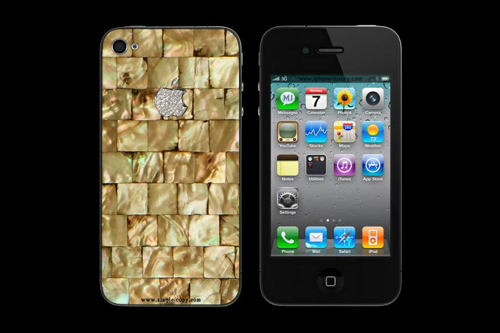 UNIQUE APPLE iPHONE PEARL EDITION - VIP CUSTOMIZE by MJ