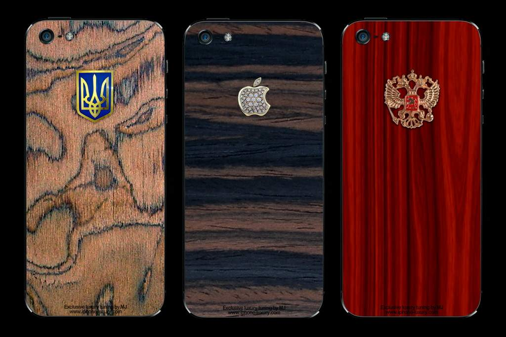 APPLE IPHONE 5 WOOD EDITION - EXCLUSIVE TUNING by MJ