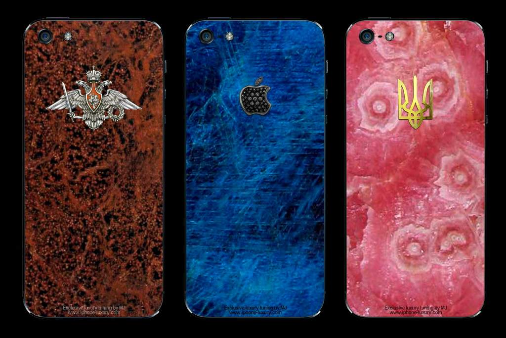 APPLE iPHONE 5 STONE EDITION - HANDMADE CASE & TUNING by MJ