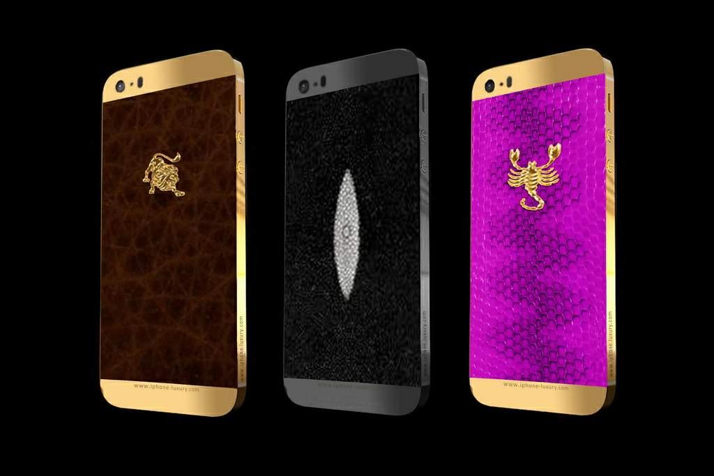 Iphone 5s Cases Gold Luxury Customization f...